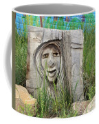 Lady In Wood Coffee Mug