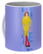 Lady In Yellow Coffee Mug by Don Larison