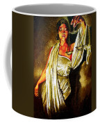 Lady Justice Sepia Coffee Mug