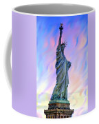Lady Liberty Blues Coffee Mug
