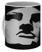 Lady Liberty In Black And White Coffee Mug