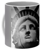 Lady Liberty In Black And White1 Coffee Mug