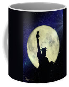 Lady Liberty Nyc - Featured In Comfortable Art Group Coffee Mug