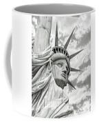 Lady Liberty  Coffee Mug by Sarah Batalka
