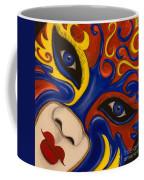 Lady Of Fire And Ice Coffee Mug