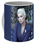 Lady Of Solitude Palm Springs Coffee Mug