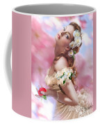 Lady Of The Camellias Coffee Mug by Drazenka Kimpel