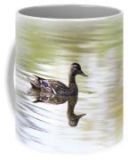 Lady On Glass - Mallard Coffee Mug