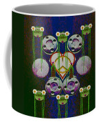 Lady Panda Welcomes Spring In Love And Light And Peace Coffee Mug