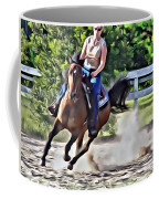 Lady Riding Coffee Mug