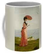 Lady Tennyson On Afton Downs Coffee Mug