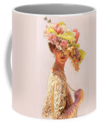 Lady Victoria Victorian Elegance Coffee Mug by Sue Halstenberg