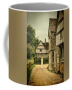 Lady Walking In The Village Coffee Mug
