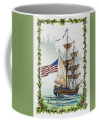Lady Washington And Holly Coffee Mug