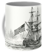 Lady Washington At Friendly Cove Coffee Mug by James Williamson