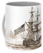 Lady Washington At Friendly Cove Sepia Coffee Mug