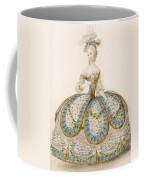 Lady Wearing Dress For A Royal Coffee Mug