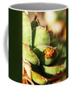 Ladybug And Chick Coffee Mug by Chris Berry