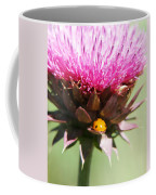 Ladybug And Thistle Coffee Mug