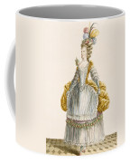 Ladys Ball Gown, Engraved By Dupin Coffee Mug