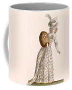Ladys Gown Embroidered With Small Coffee Mug
