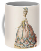 Ladys Gown For The Royal Court Coffee Mug