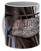 Lafittes Blacksmith Shop Sign Coffee Mug