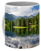 Lago Dei Caprioli - Roe Deer Lake Coffee Mug