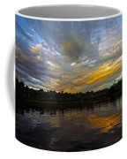 Lagoon Sunset In The Jungle Coffee Mug