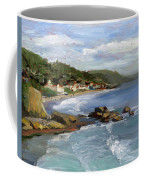 Laguna Beach Coffee Mug by Alice Leggett