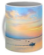 Laguna Madre Fishing At Sunset Coffee Mug