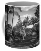 Lahaina Palm Shadows Coffee Mug