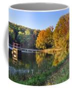 Lake At Chilhowee Coffee Mug by Debra and Dave Vanderlaan