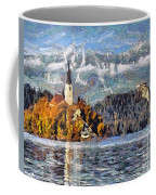 Lake Bled And Mountains Coffee Mug