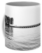 Lake Bridge Mono Coffee Mug