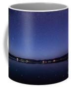 Lake Cascade Idaho By Night Coffee Mug