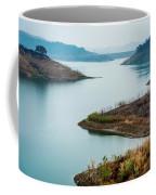 Lake Casitas In The Fog Coffee Mug