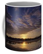 Lake Cassidy With Mount Pilchuck Coffee Mug