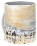 Lake Constance In Winter Coffee Mug