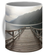 Lake Crescent Dock Coffee Mug