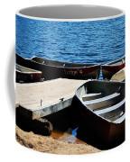 Lake Dock Coffee Mug