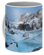 Lake Haiyaha Winter Coffee Mug