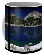 Lake Helen At Mt Lassen Triptych Coffee Mug by Peter Piatt