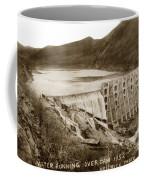 Lake Hodges And Dam San Diego County California  1952 Coffee Mug