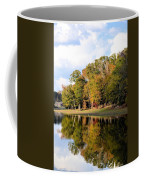 Lake House In Autumn Coffee Mug