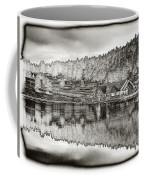 Lake House Reflection Coffee Mug