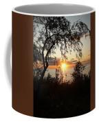 Lake Huron Setting Sun Coffee Mug