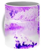 Lake And Ice Coffee Mug