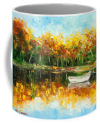Lake Impression Coffee Mug