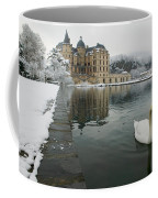 Lake In Front Of A Chateau, Chateau De Coffee Mug
